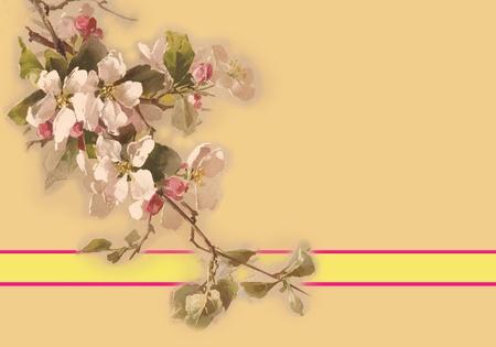 Cherry Blossoms Invite