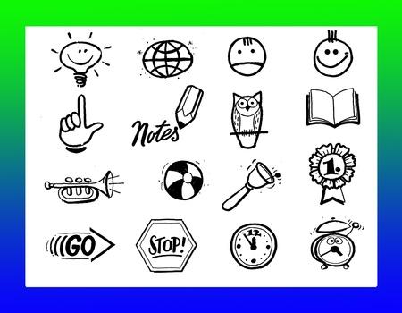 Logo Education Fun Stock Photo