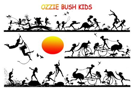 OZZIE BUSH KIDS photo