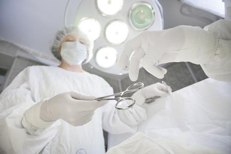 shemale: surgery equipment Stock Photo