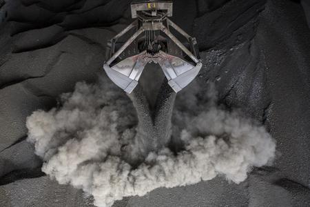 coal loading Stok Fotoğraf - 55491247