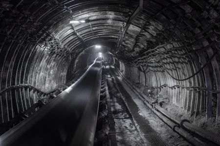 石炭鉱山 写真素材