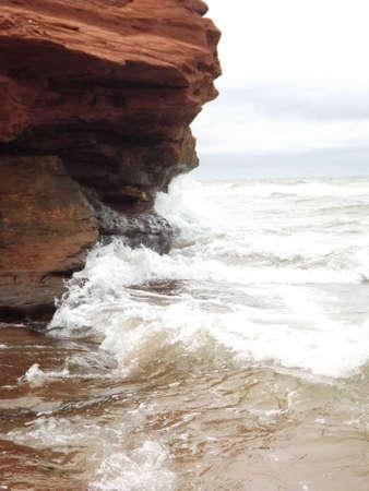 崖景観 写真素材
