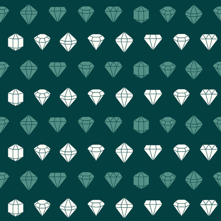 Seamless pattern with jewels and diamonds icons for your design Reklamní fotografie - 105820643