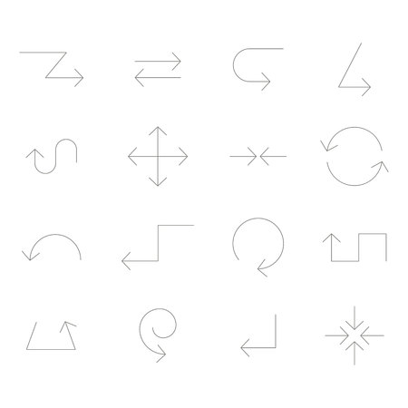 Icon set for your design 일러스트