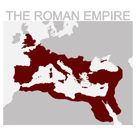 vector map of the Roman Empire
