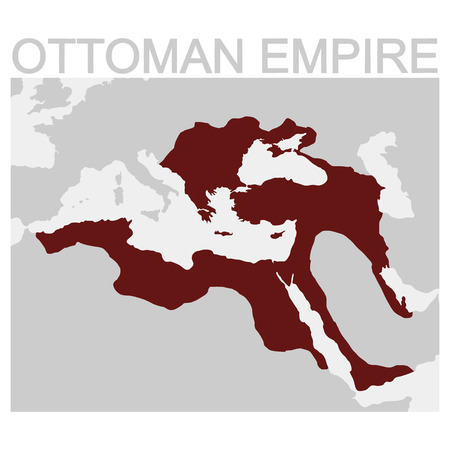 vector map of the Ottoman Empire