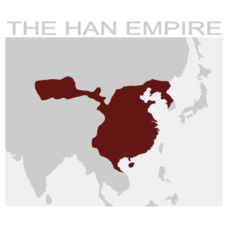 vector map of the attila the hun empire