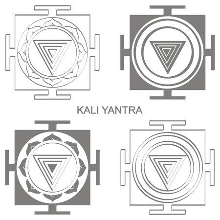 Kali Yantra Hinduism symbol