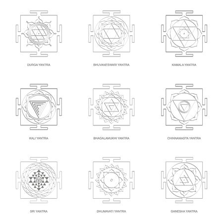 Yantra Hinduism symbols