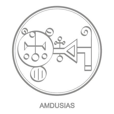 Sigil of demon amdusias