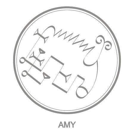 Sigil of demon amy Illustration