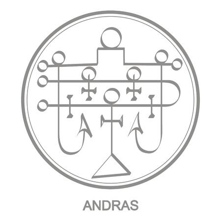 Sigil of demon andras