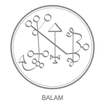 Sigil of demon balam
