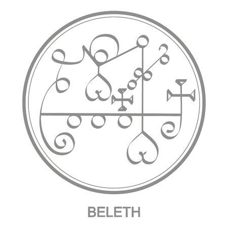Sigillo del demone beleth
