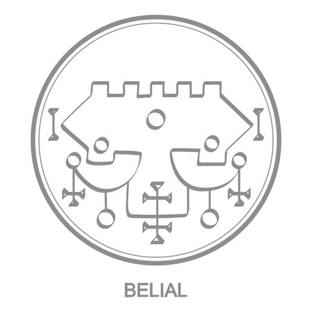 symbol of demon Belial