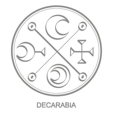 Sigil of demon decarabia