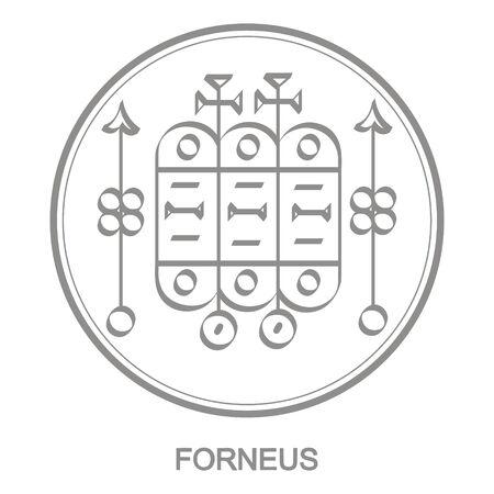 Sigil of demon forneus Illustration