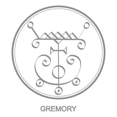 Sigil of demon gremory