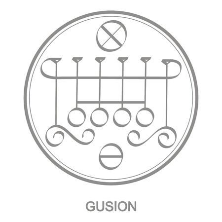 Sigil of demon gusion