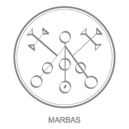 symbol of demon marbas