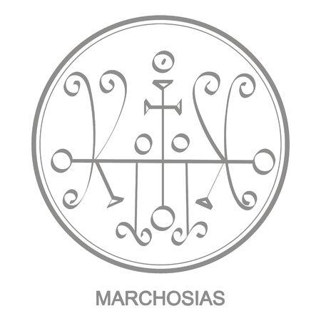 symbol of demon Marchosias