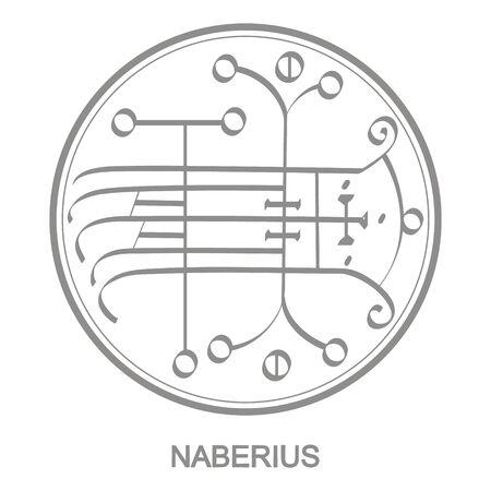 symbol of demon naberius