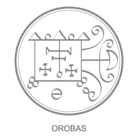 Sceau du démon Orobas