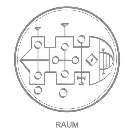 Sigil of demon raum