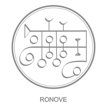 Sigil of demon ronove