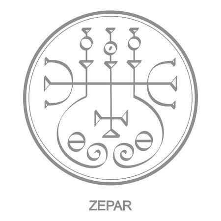 Sigil of demon zepar