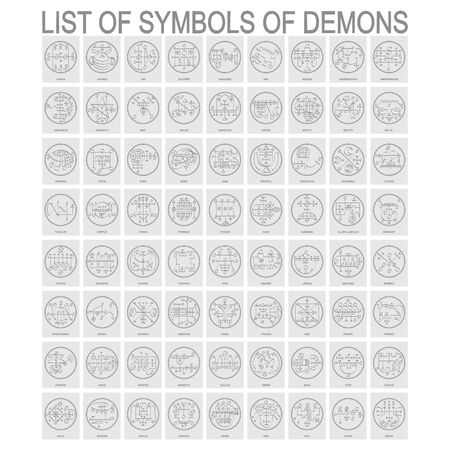 Symbols of Demons