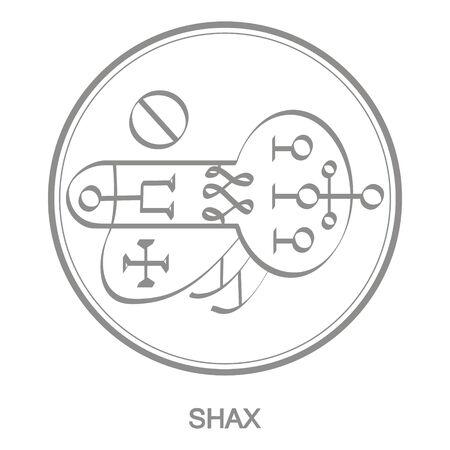 Sigil of demon shax