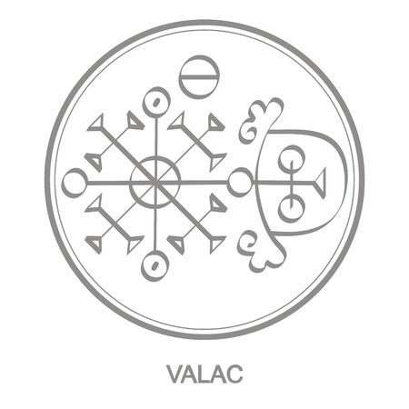 Sigil of demon valac