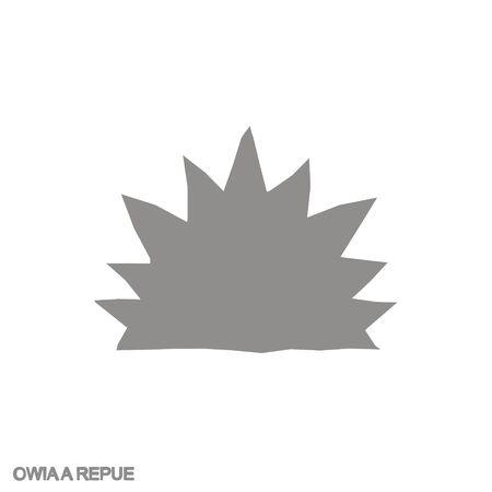 icon with Adinkra symbol Owiaa Repue