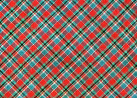 abstract background with plaid fabric for your design Standard-Bild