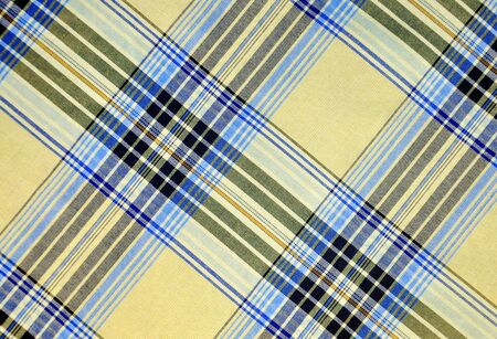 abstract background with plaid fabric for your design Archivio Fotografico