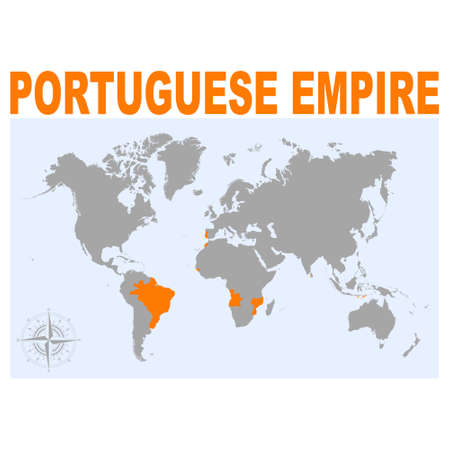 vector map of the Portuguese