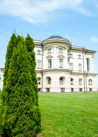 Baturyn, Chernihiv, Ukraine - 06/23/2021: Palace of Hetman of Ukraine Kyrylo Rozumovskyi