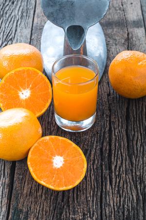 オレンジ ジュース 写真素材