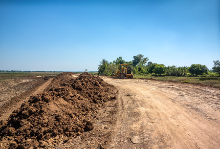 land area adjustment and reclamation project