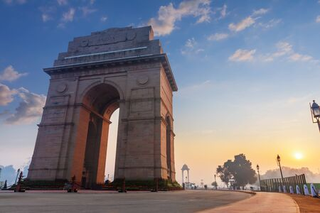 India Gate, wonderful place of interest in New Delhi.