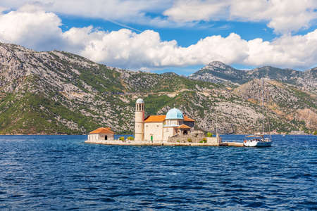 Our Lady of the Rock church, Kotor, Montenegro
