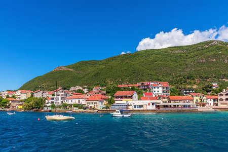 Beautiful Adriatiac sea coast near Kotor, Montenegro