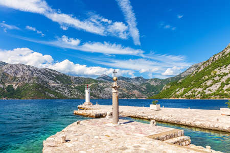 Our Lady of the Rocks Lighthouse, Bay of Kotor, Montenegro