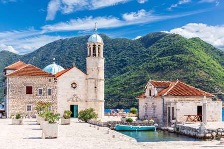 Church of Our Lady of the Rocks near Perast, Kotor Bay, Montenegro