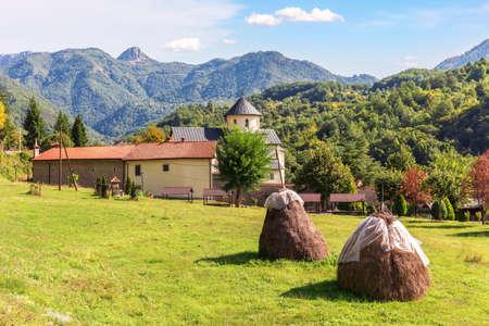 Moracha Monastery, Church of the Assumption of Mary, Montenegro Imagens