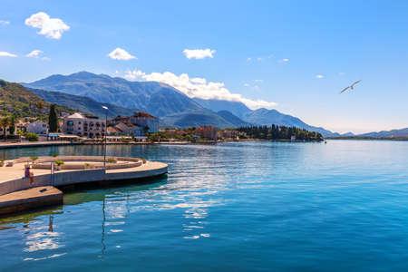 Porto Montenegro marina in Tivat, wonderful view.
