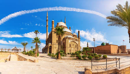 The Great Mosque of Muhammad Ali Pasha in the Cairo Citadel, Egypt