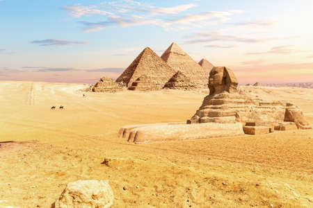 The Pyramids of Egypt and the Great Sphinx, Giza